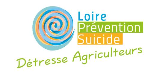 Logotype de Détresse Agriculture pour l'association Loire Prévention Suicide située à Saint-Étienne.