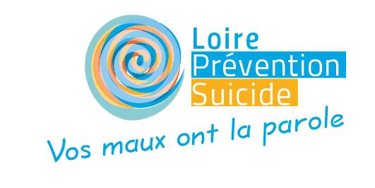 Logotype de l'association Loire Prévention Suicide située à Saint-Étienne.