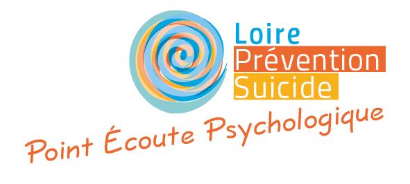 Logotype du Point Écoute Psychologique pour l'association Loire Prévention Suicide située à Saint-Étienne.