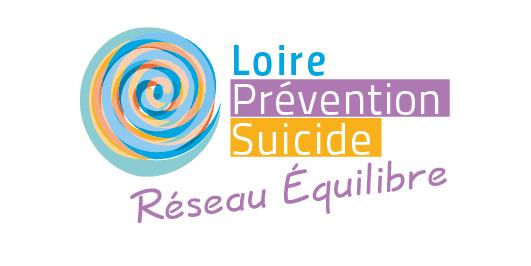Logotype du Réseau Équilibre pour l'association Loire Prévention Suicide située à Saint-Étienne.